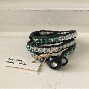 Summer Beaded Wrap Bracelet